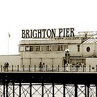 brighton pier by Stuart Elliott