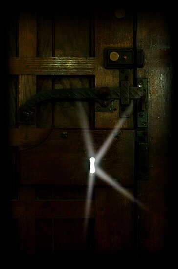 THROUGH THE KEY HOLE by Katseyes