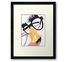 Comedy Genius Framed Print