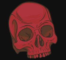 Skull - Red Kids Clothes