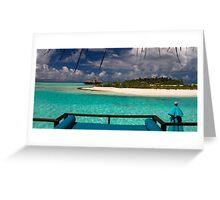 Island dreaming Greeting Card