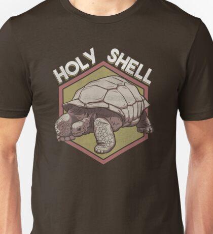 Tortoise Holy Shell Funny Saying Animal Pun Unisex T-Shirt