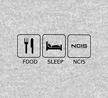 Food Sleep NCIS T-Shirt