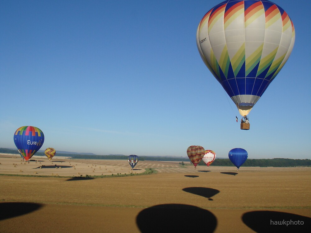 A balloon meet in france by hawkphoto