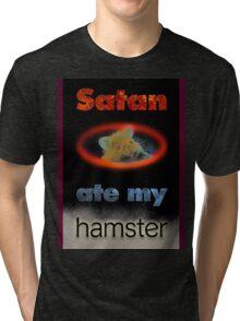 Satan's Hamster Tri-blend T-Shirt