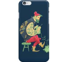 dude knits iPhone Case/Skin