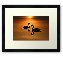 2 On Golden Pond  Framed Print
