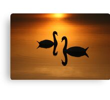 2 On Golden Pond  Canvas Print