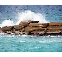 Crashing Cayman Waves Photographic Print