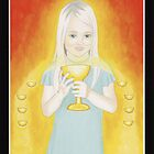9 of Chalices - Generosity by Lisa Tenzin-Dolma