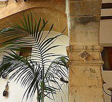 Pillars And Palms by Fara