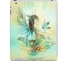 """THE AQUARIUS"" - Protective Angel for Zodiac Sign iPad Case/Skin"