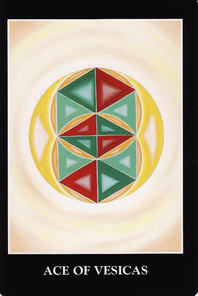 Ace of Vesicas by Lisa Tenzin-Dolma