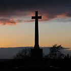 Cross by sunset by kkmeer
