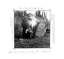 How Neal lost his Head at the Fairy Fort Photographic Print