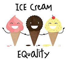 Ice cream Equality by Puchu