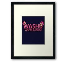 You're a genius, Washu!  Framed Print