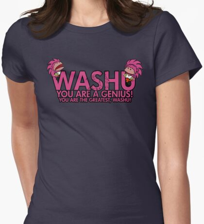 You're a genius, Washu!  Womens Fitted T-Shirt