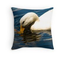 Sipping Throw Pillow