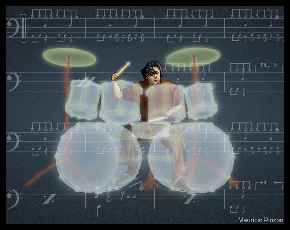 Drummer by Mauricio Pinzon