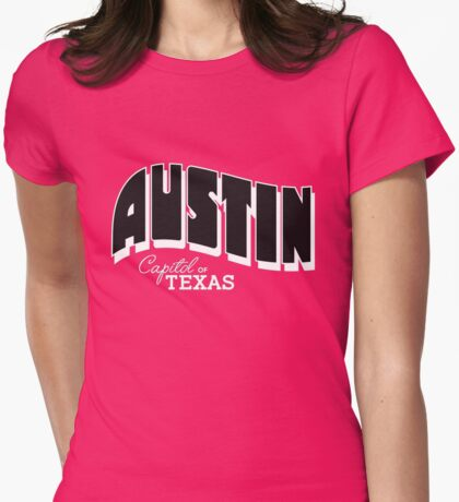 austin sxsw Womens Fitted T-Shirt