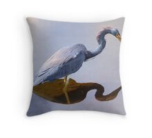 Just a Pause to Think Throw Pillow
