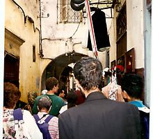 Narrow and Crowded streets of Morrocco by karen66