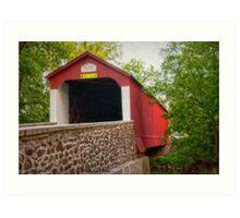 Van Sandt Bridge I Art Print