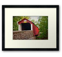 Van Sandt Bridge I Framed Print