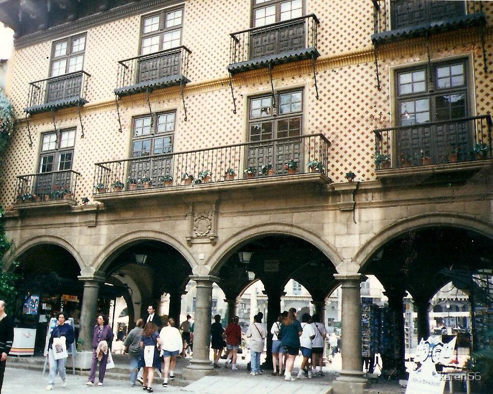 Another Interesting Spanish Building by karen66