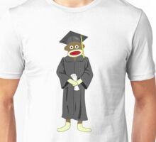 Sock Monkey Graduation Unisex T-Shirt