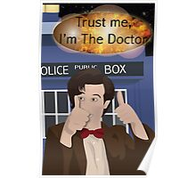 Doctor Who - Matt Smith Poster