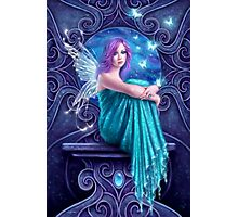 Astraea Fairy with Butterflies Photographic Print
