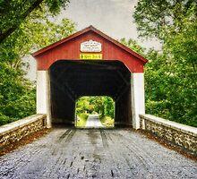 Van Sandt Covered Bridge II by Debra Fedchin