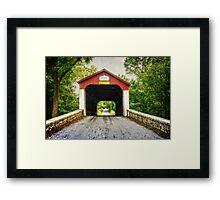 Van Sandt Covered Bridge II Framed Print