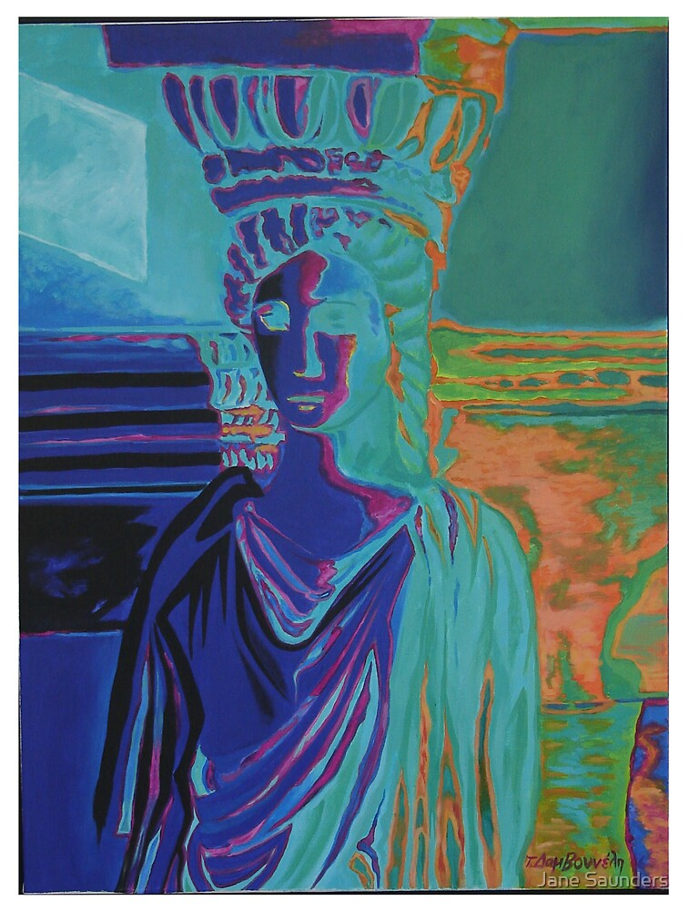 Caryatid 2 by Jane Saunders
