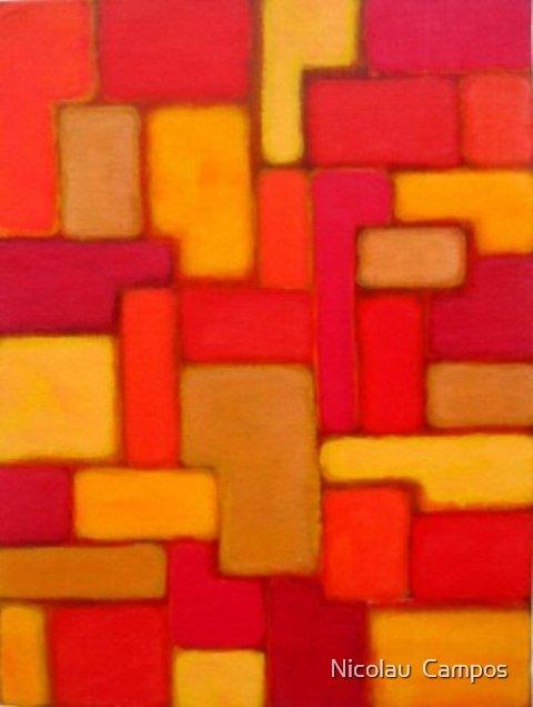 Geometric composition 11 by Nicolau  Campos