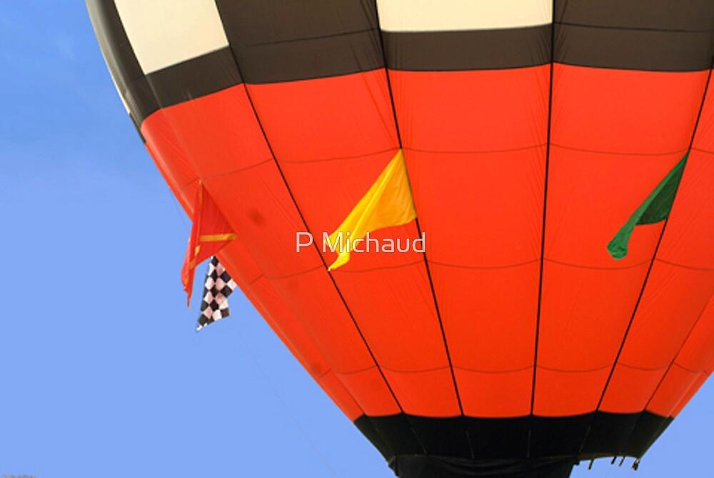 hot air balloon by P Michaud
