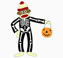 Sock Monkey Halloween Unisex T-Shirt
