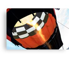 the flame Canvas Print