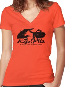 Ultra Jaeger Women's Fitted V-Neck T-Shirt