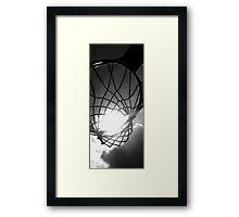 Ball of Light Framed Print