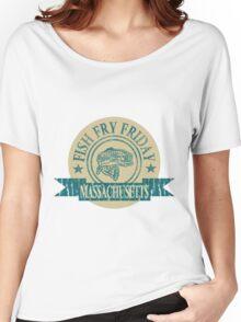 MASSACHUSETTS FISH FRY Women's Relaxed Fit T-Shirt