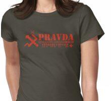 Pravda Team Shirt Womens Fitted T-Shirt