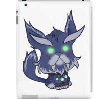 Kitty is for Feral : Purple Cat iPad Case/Skin