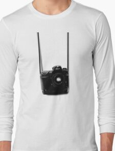 Camera shirt 2 - for Nikon users Long Sleeve T-Shirt