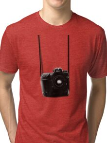 Camera shirt 2 - for Nikon users Tri-blend T-Shirt