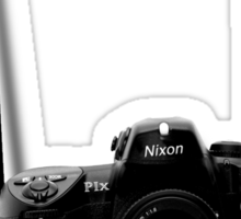 Camera shirt 2 - for Nikon users Sticker