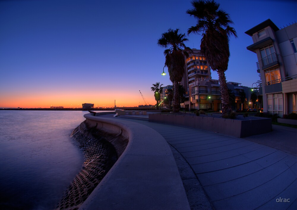 Port Melbourne Sunset by olrac