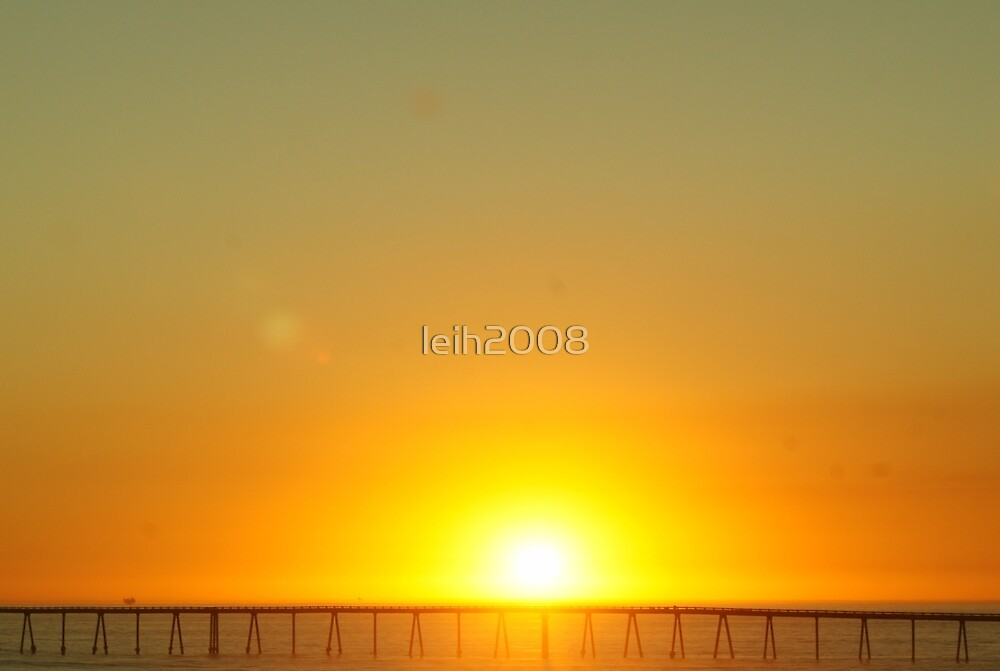 Coastal Sunset; Santa Barbara, CA USA by leih2008